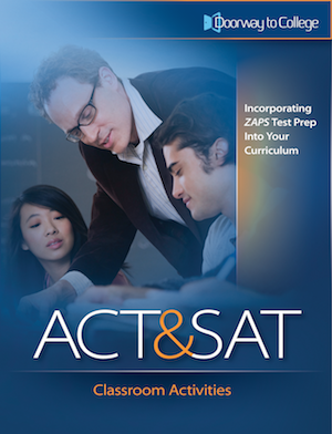 Cover of the Doorway to College ACT and SAT Classroom Activities book